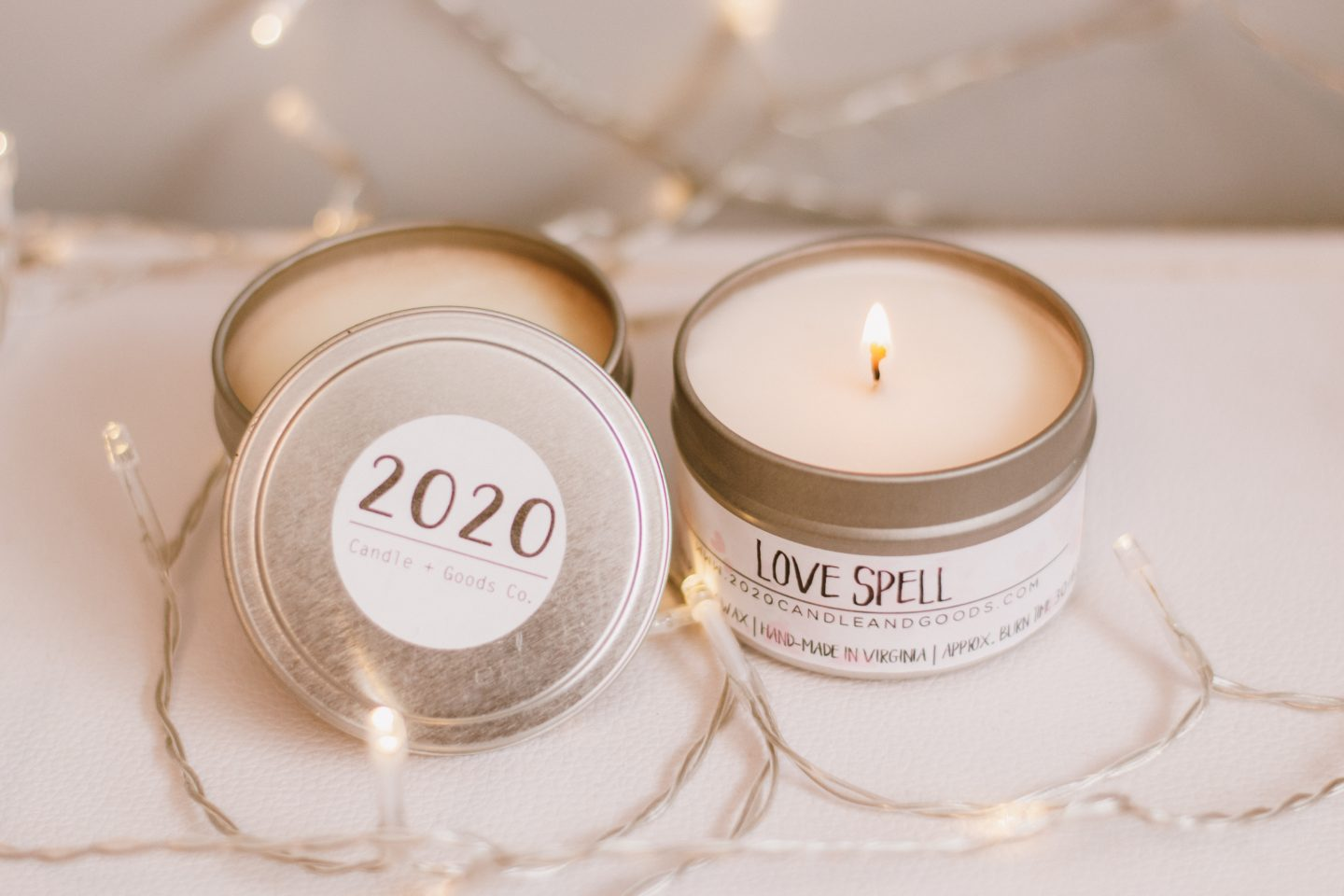Small Business Spotlight- 2020 Candles + Goods